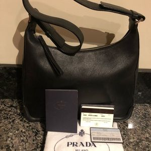 3931cdeea1c9 Prada Bags | Leather Handbag | Poshmark